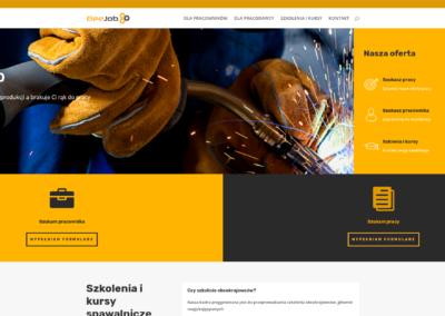Strona firmowa BeeJob